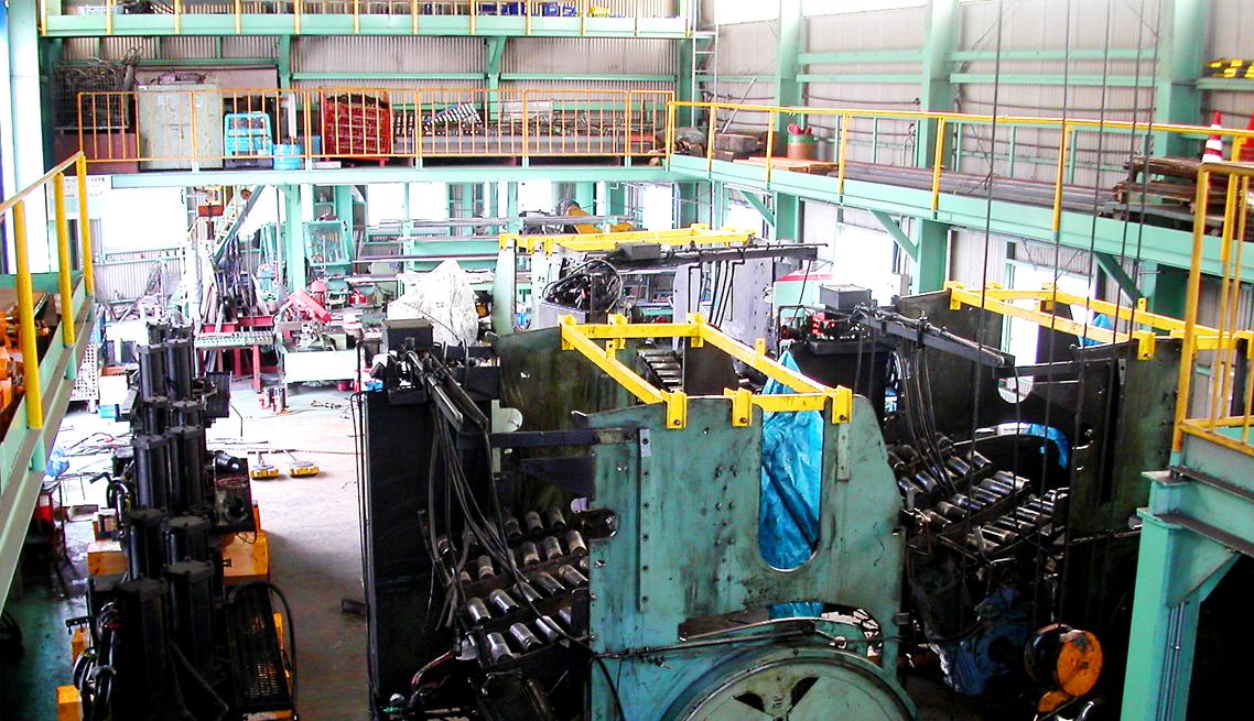加硫機改造工事