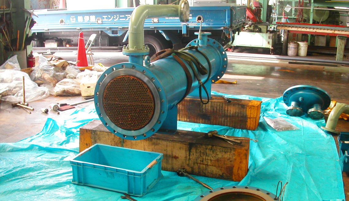 熱交換器整備