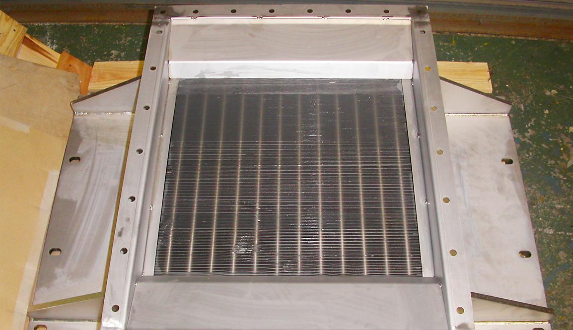 冷却器整備